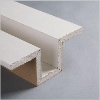 Pre-fabricated drywall channel