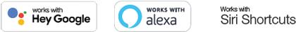 Oncloud works with Google Home, Alexa, Siri shortcuts