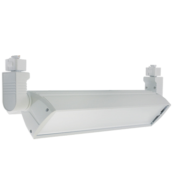 66W LED Wall Wash Track Fixture