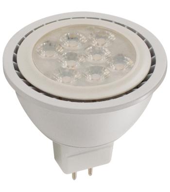 6 Watt MR16 LED Lamp, GU5.3 Base