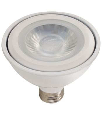 10 Watt PAR30 LED Lamp, E26 Base, 90 CRI
