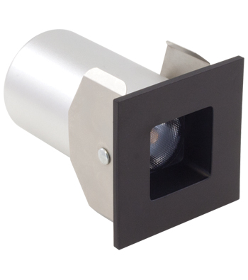 3W Square LED Micropot Recessed Pot Light