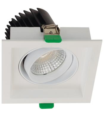 Sigma 3 Square Tilting Gimbal LED Fixture