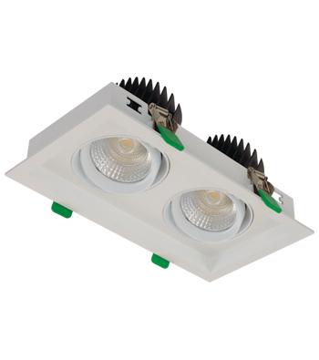 Sigma 3 2-Light Linear Tilting Gimbal LED Fixture