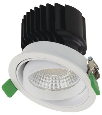 Sigma 3 Round Gimbal Trim LED Fixture