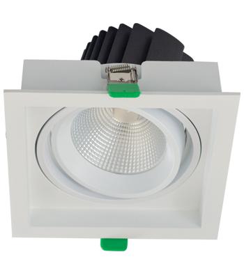 Sigma 4 Square Tilting Gimbal LED Fixture
