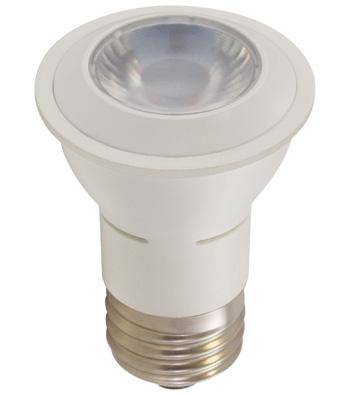 6 Watt PAR16 LED Lamp, E26 Base