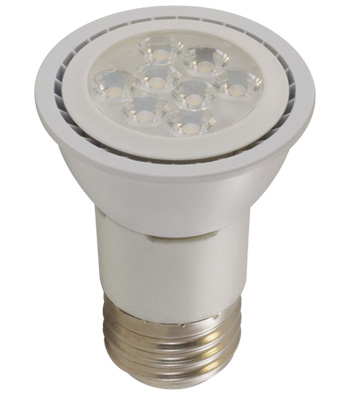 6 Watt PAR16 LED Lamp, E26 Base