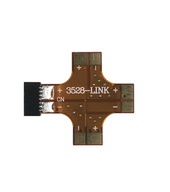 TILX Blank Connector for LED Tape Light title=