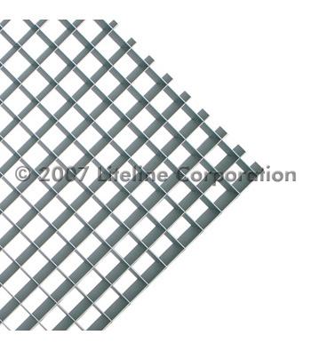 Aluminum Eggcrate Louvers (½