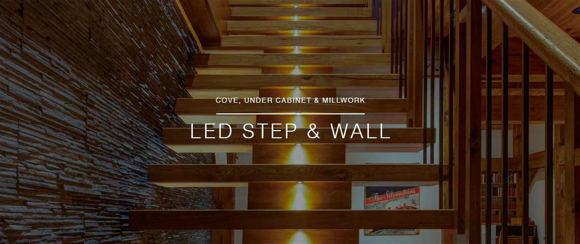 LED Step & Wall