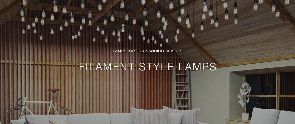 Filament Style Lamps