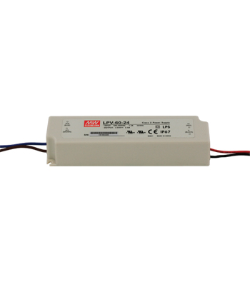 60W Outdoor LED Driver, 24V DC title=