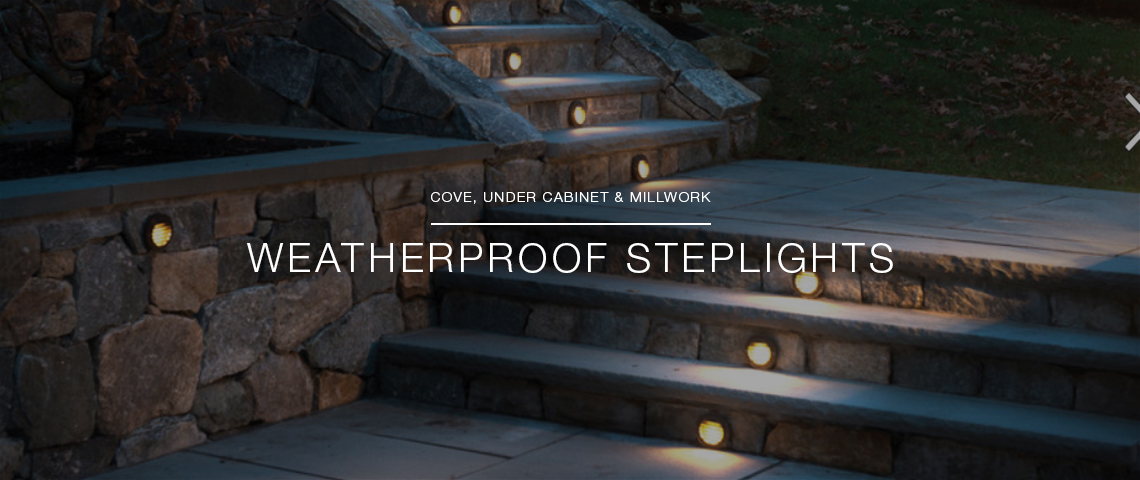 Weatherproof Steplights