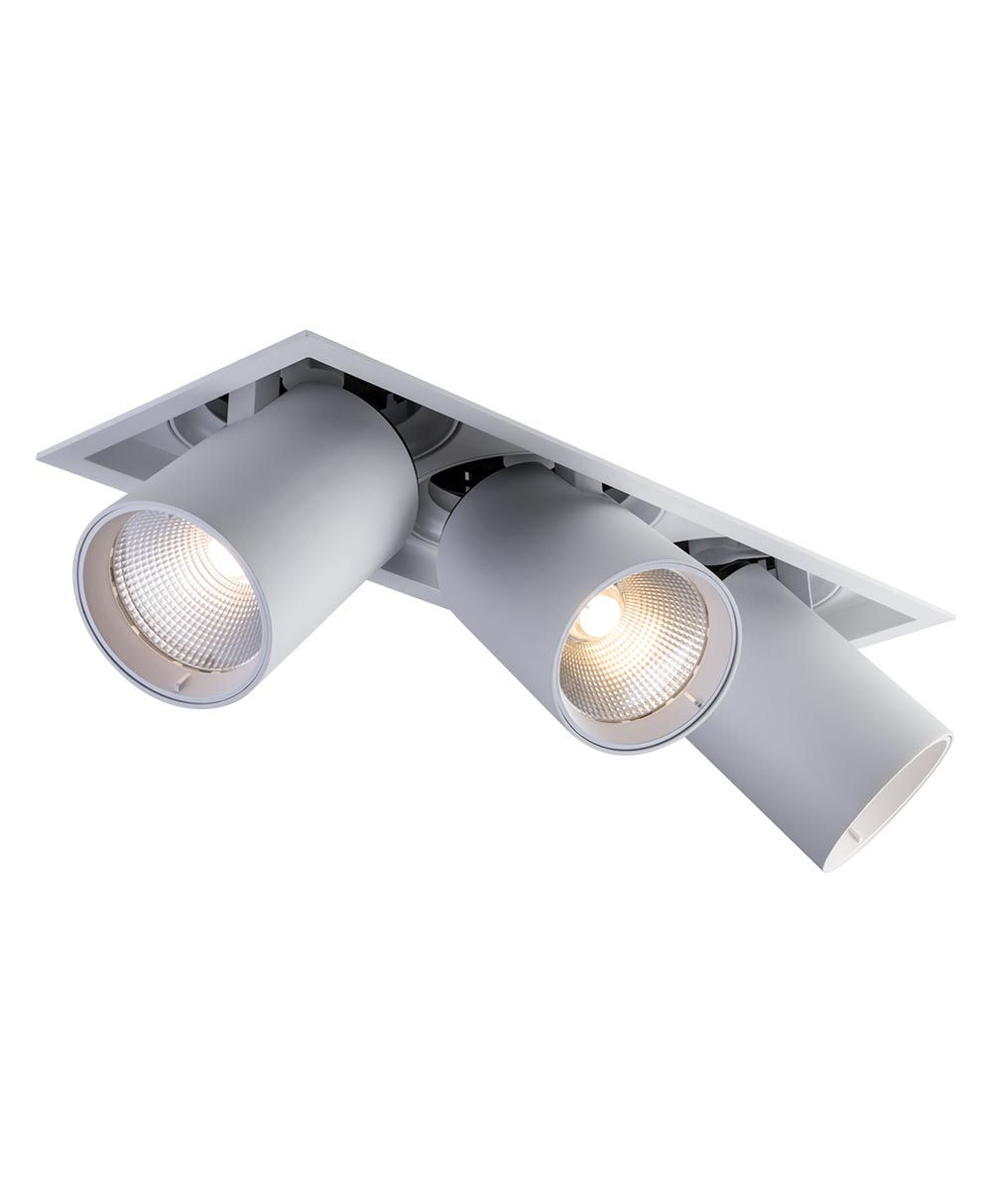 Sigma 4 3-Light Linear Pulldown LED Fixture
