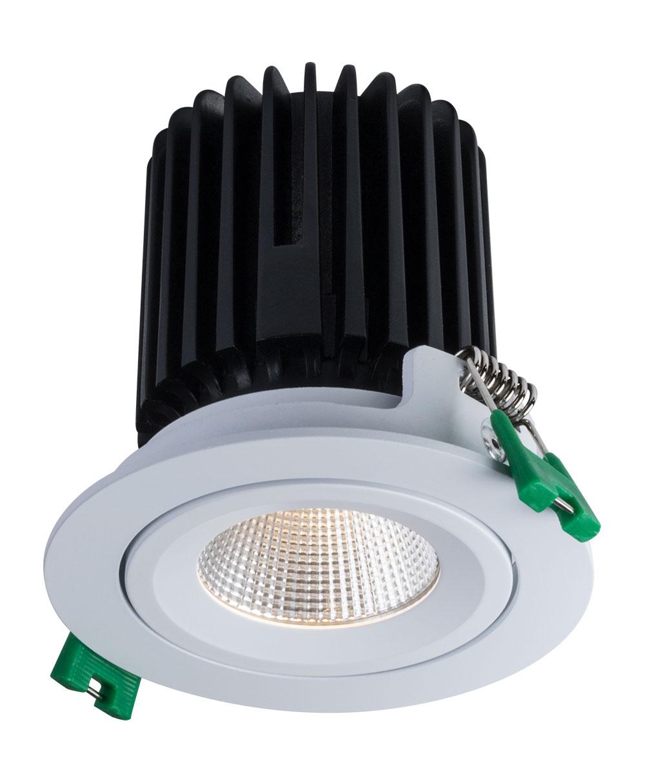 Sigma 2 Round Flush Gimbal LED Fixture
