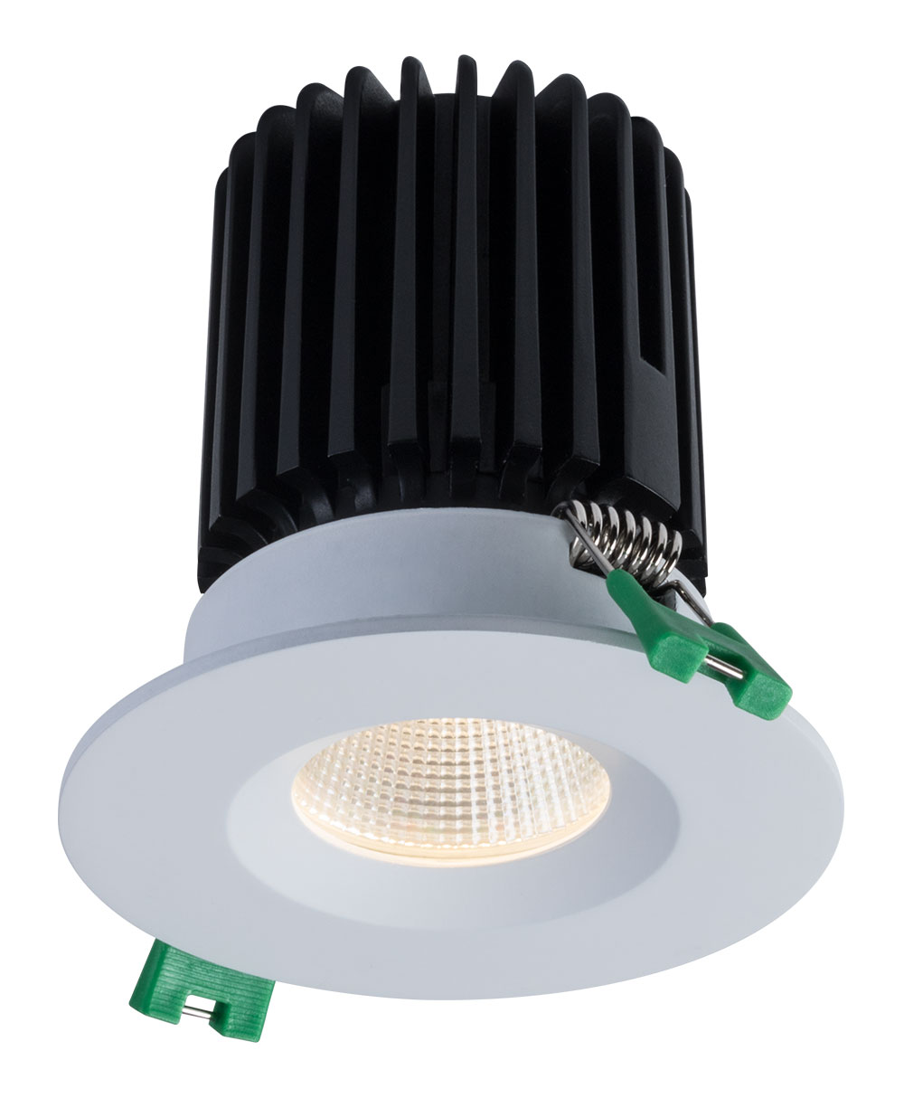 Sigma 2 Round Regressed LED Fixture for Wet Locations