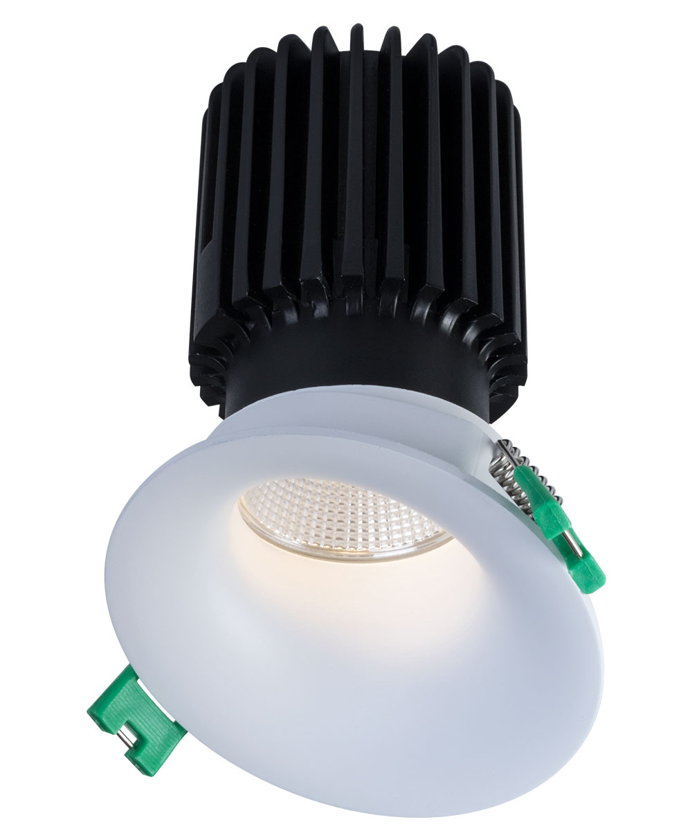 Sigma 2 Round Slope Ceiling Wall Wash LED Fixture
