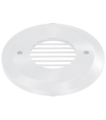 Round Horizontal Louver Faceplate title=