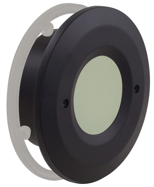 Round Open Window Faceplate
