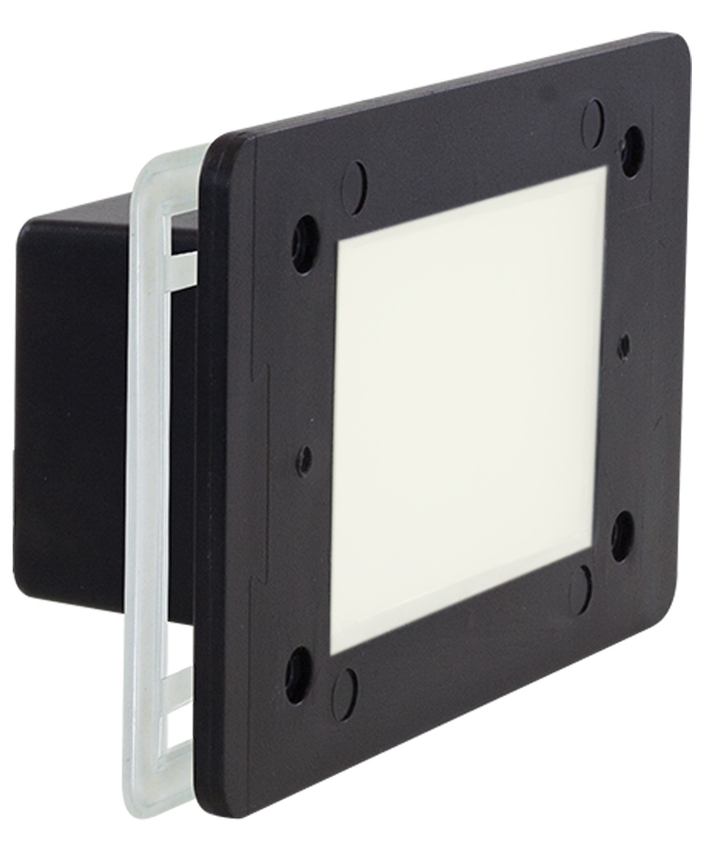 2W Single Gang Outdoor LED Step Light