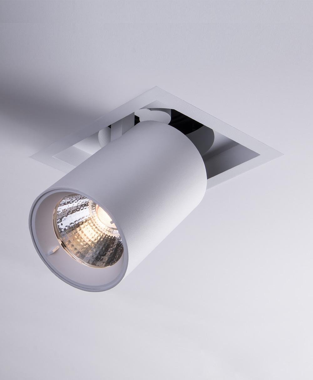 Sigma 3 Square Pulldown LED Fixture