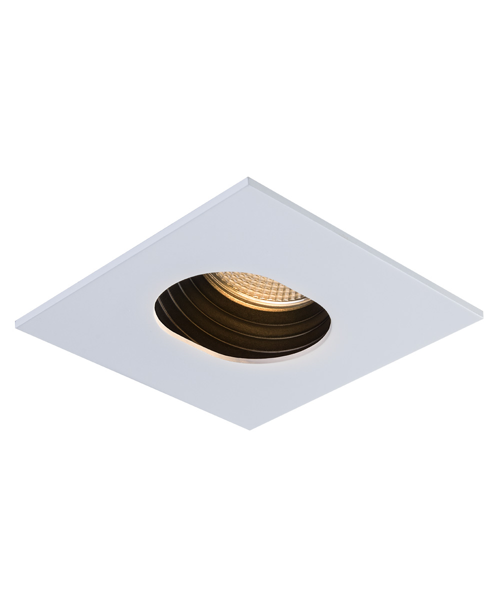 SIGMA 2 Square Slot LED Fixture with Stepped Baffle