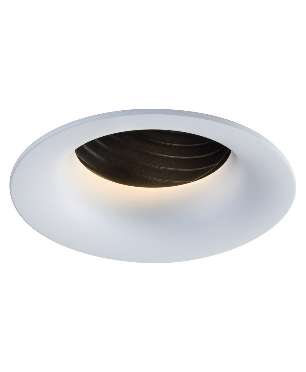 SIGMA 2 Round Adjustable LED Fixture with Stepped Baffle