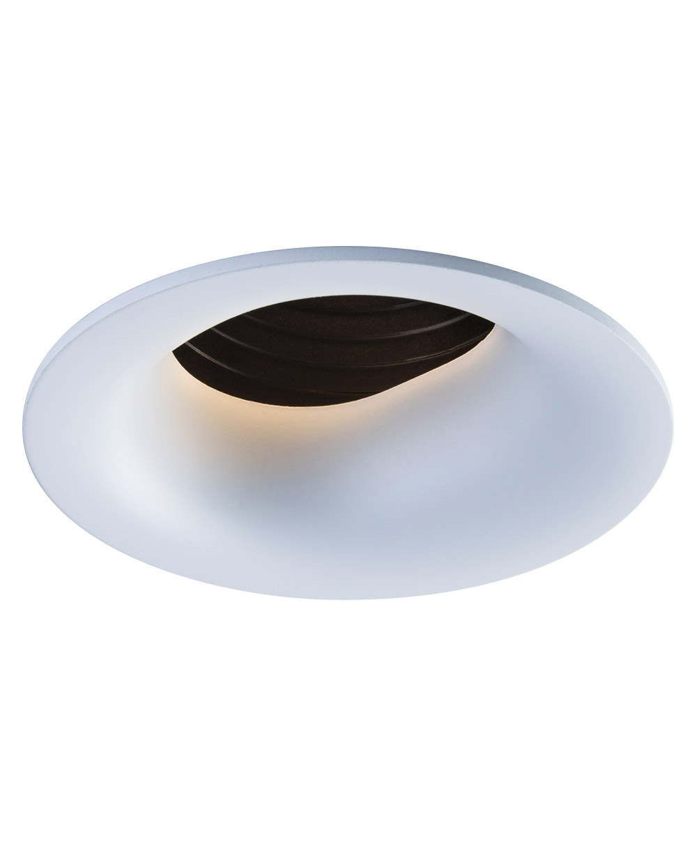 SIGMA 2 Round Slot Wall Wash LED Fixture with Stepped Baffle